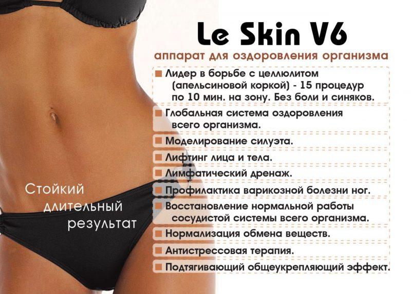 Le skin V6