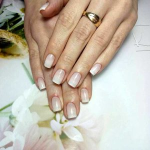hand nail manicure